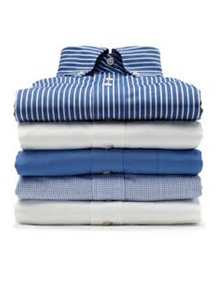 My Dry Cleaners - Services shirts folded